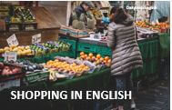 How to go shopping English