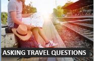 Asking travel questions in English