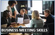 Business Meeting Skills Audio Lesson at Intermediate Level