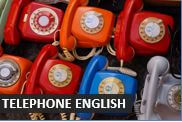 How to use the telephone in English