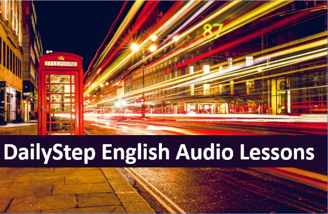 DailyStep English Lesson Topics