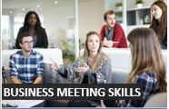 How to learn Business Meeting skills in English