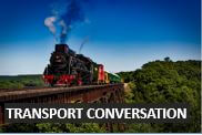 English conversation lessons about transport .