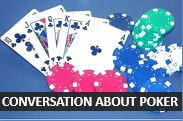 Conversation about the card game poker - Advanced English Lessons