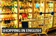 How to go shopping in English