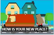 How to talk about a new house and area in English