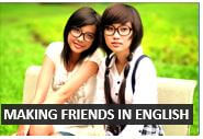 Making friends in English - conversation lessons from DailyStep English