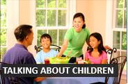 English conversation about children  - Audio Lessons from DailyStep English