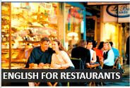 Speaking English at a restaurant - Audio English Lesson