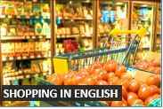 How to go shopping in English  - Beginner Level Audio English Lessons from DailyStep English