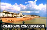 How to talk about a town where you live  - Elementary Level Audio English Lessons from DailyStep English