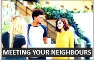 How to meet you neighbours in English