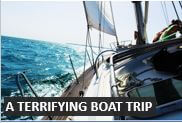 Describing a terrifying boat journey in English - Advanced English Conversation Lessons