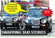 Swapping taxi stories - advanced level English conversation lessons