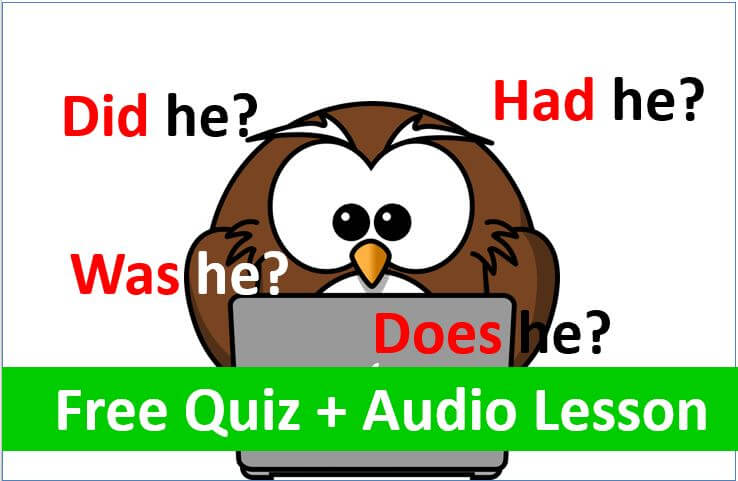 How To Use English Auxiliary Verbs For Questions, Negatives and Short Answers.