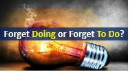 How To Use Remember and Forget  With Gerund and Infinitive