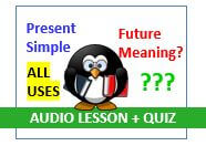 Present Simple Tense In English